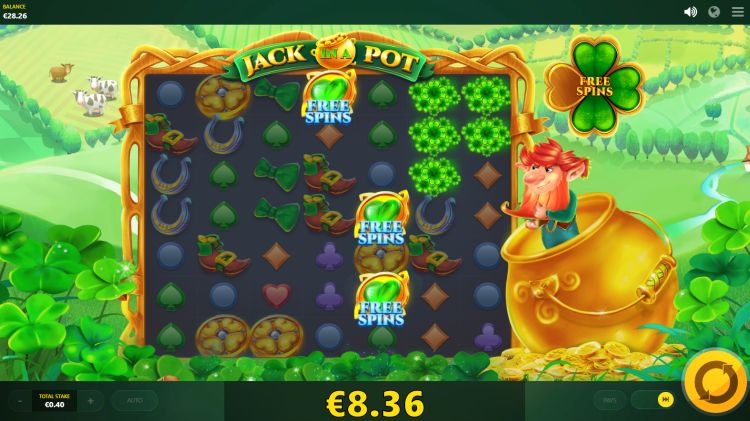 Jack in a pot red tiger slot review