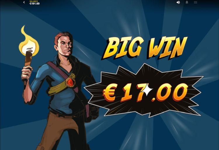 Jackpot Quest red tiger slot review big win