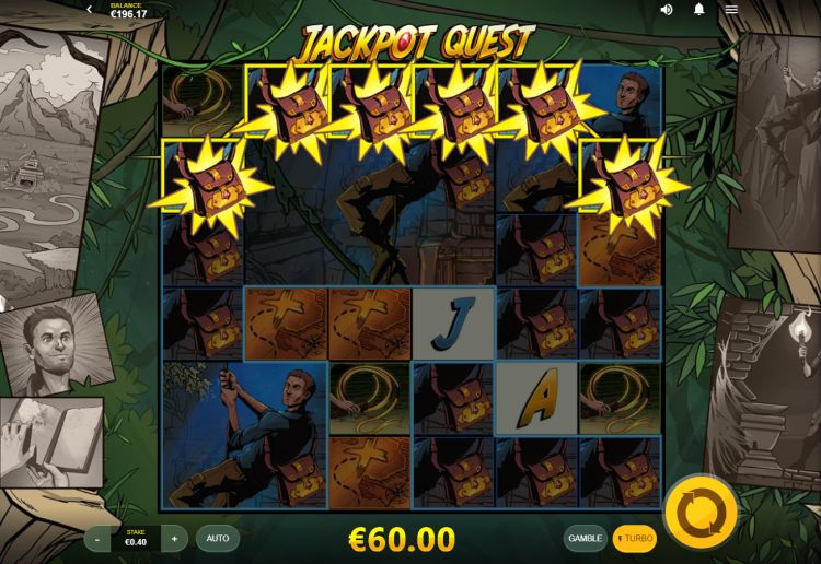 Jackpot Quest red tiger