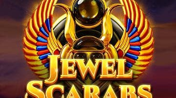 Jewel Scarabs slot red tiger logo