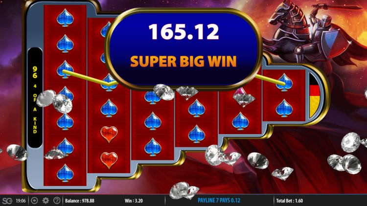 Knight's Keep WMS big win free spins