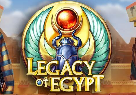 Lecacy of Egypt slot review logo