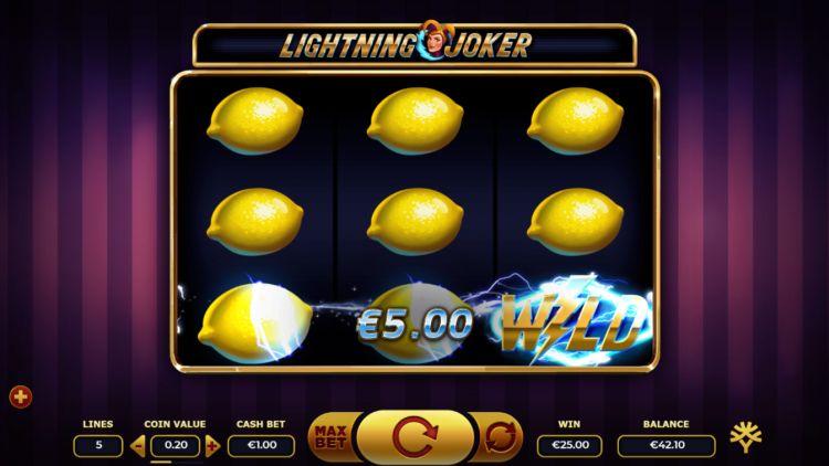 Lightning joker yggdrasil full screen lemons