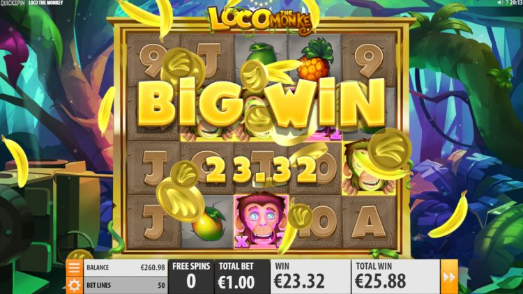 Loco the monkey slot review big win