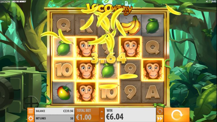 Loco the monkey slot review quickspin win