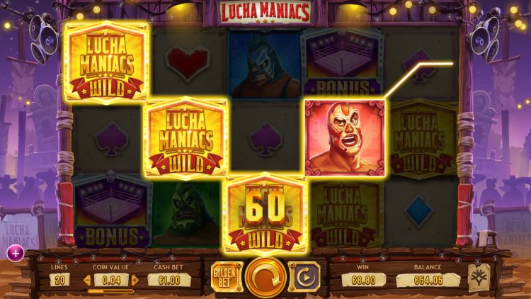 Lucha Maniacs slot review yggdrasil
