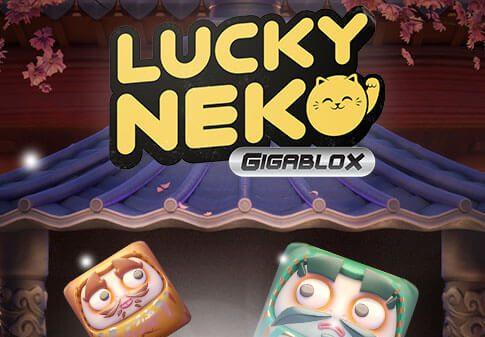 Lucky Neko Gigablox review logo