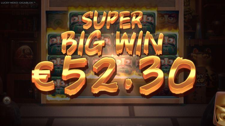 Lucky Neko Gigablox review super big win