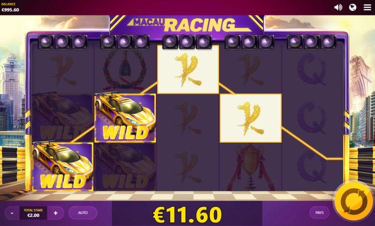 Macau Racing slot review win