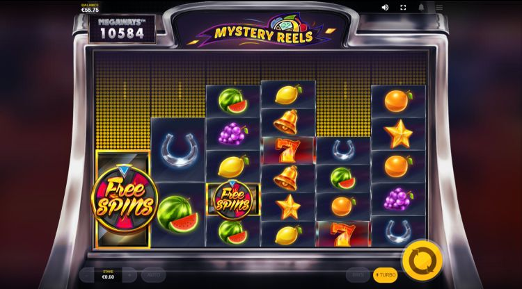 Mystery Reels megaways slot review scatters
