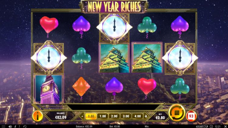 New Year Riches slot review bonus trigger