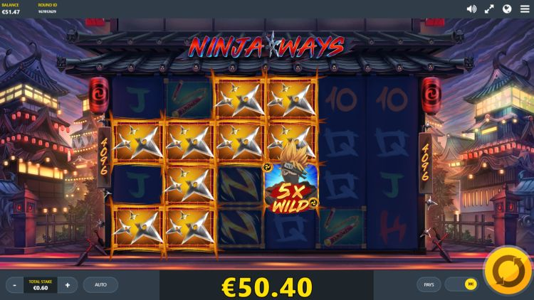 Ninja ways slot review red tiger big win