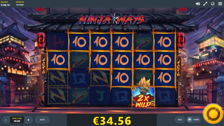 Ninja ways slot review red tiger feature win