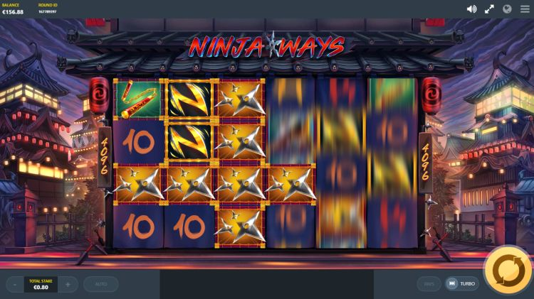 Ninja ways slot review red tiger