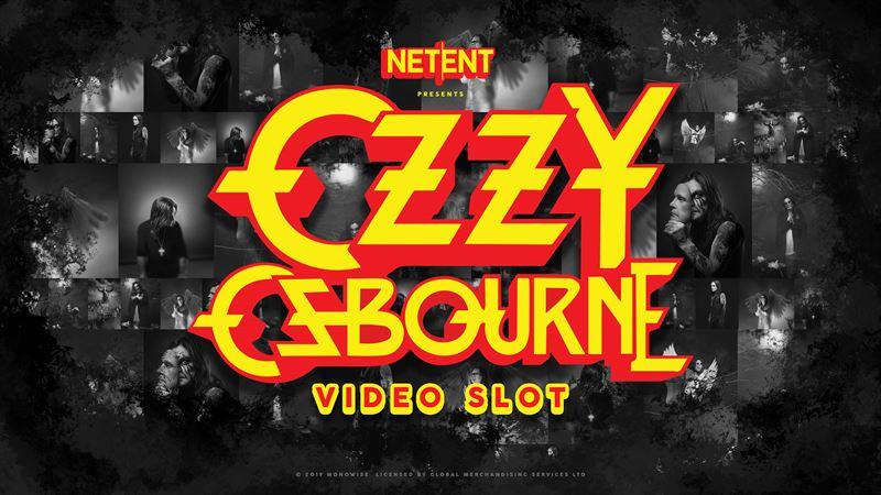 Ozzy Osbourne slot review netent logo 2
