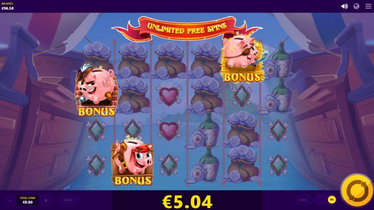 Piggy Pirates Red Tiger review bonus trigger