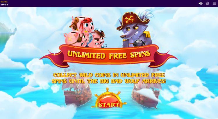 Piggy Pirates Red Tiger review bonus uitleg