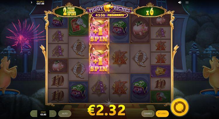 Piggy Riches Megaways slot review bonus retrigger