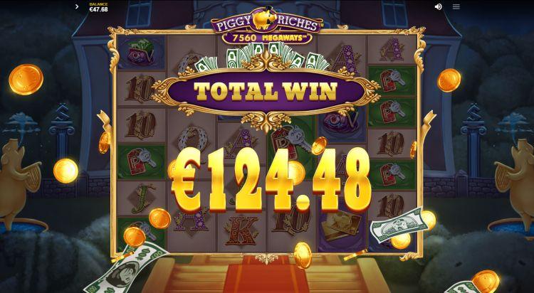 Piggy Riches Megaways slot review bonus win