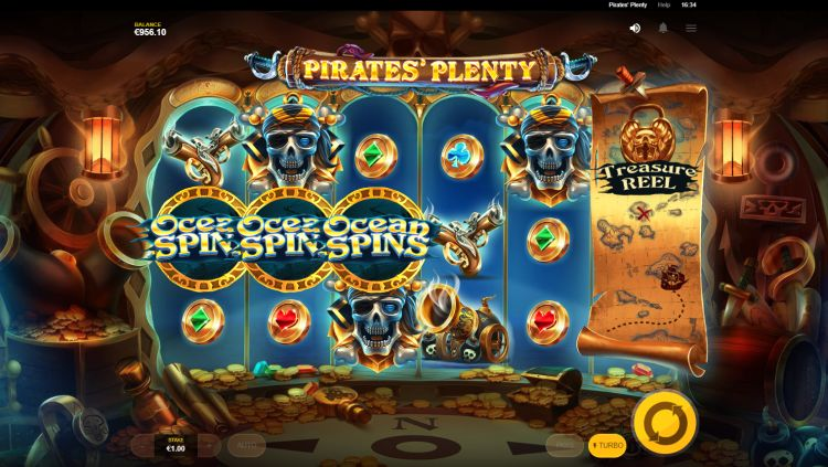 Pirates plenty free spins trigger