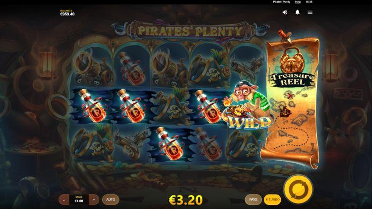 Pirates plenty slot review bonus feature