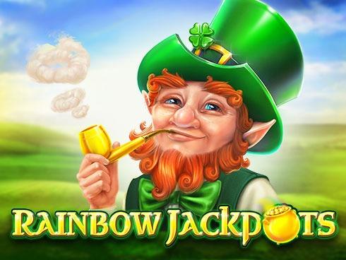 Rainbow-Jackpots-slot red tiger logo