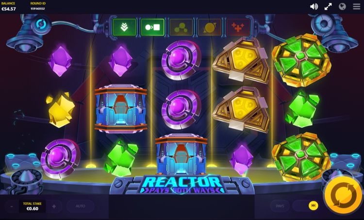 Reactor slot review Red Tiger feature