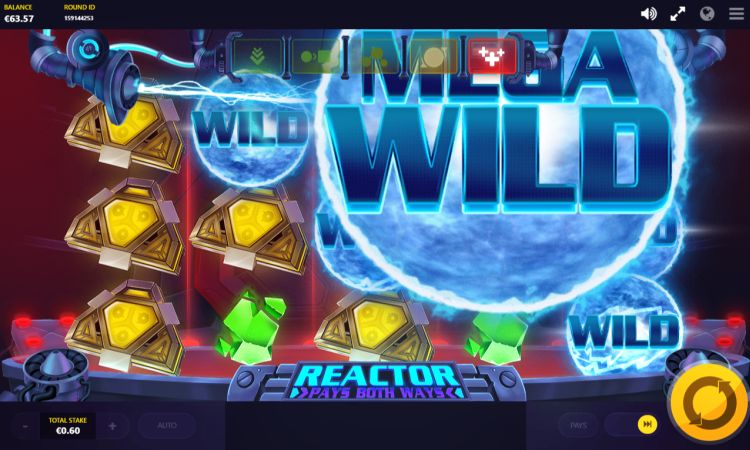 Reactor slot review Red Tiger mega