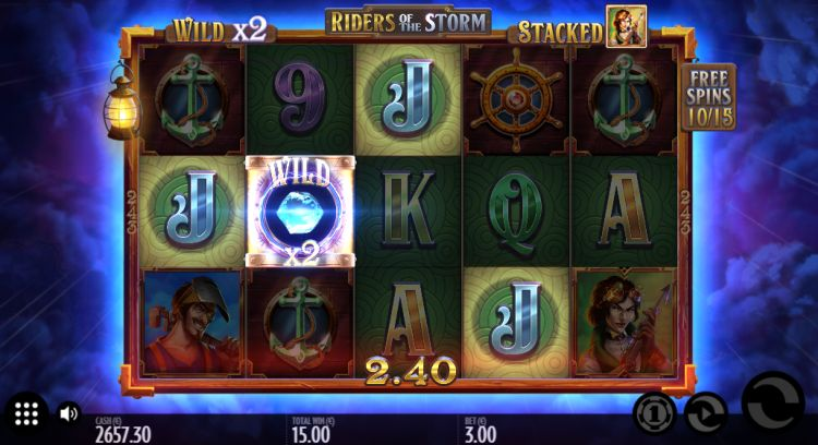 Riders of the storm slot thunderkick free spins win 2
