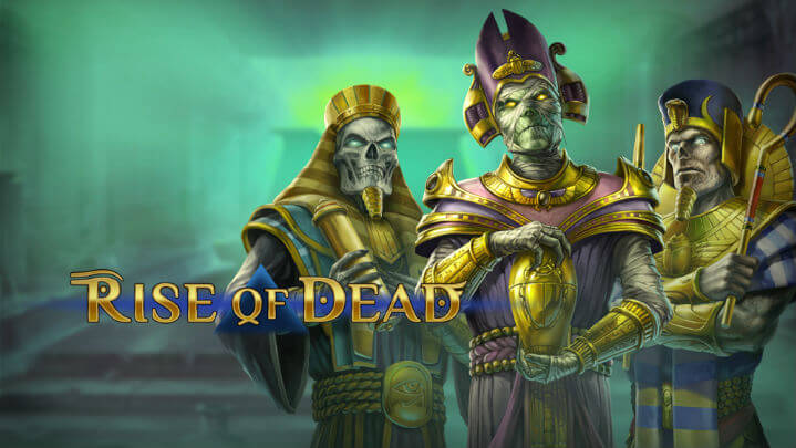 Rise-of-Dead slot logo