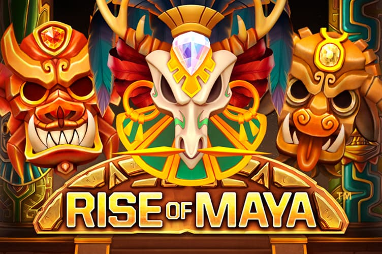 Rise of Maya slot logo