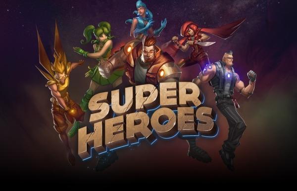 Super Heroes Yggdrasil gokkast review logo