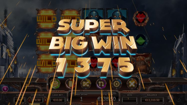 Super Heroes Yggdrasil super big win