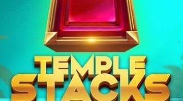 Temple Stacks slot logo