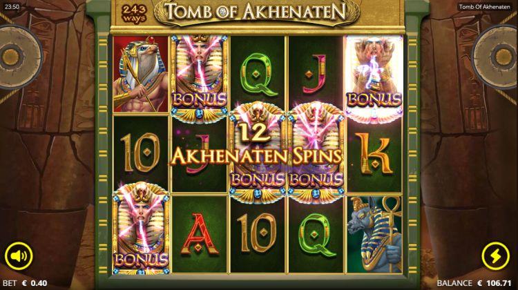 Tomb of akhenaten slot review Nolimit City bonus trigger 2