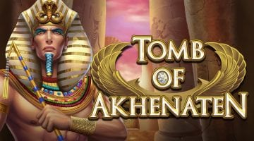 Tomb of akhenaten slot review logo