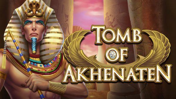 Tomb of akhenaten slot review logo