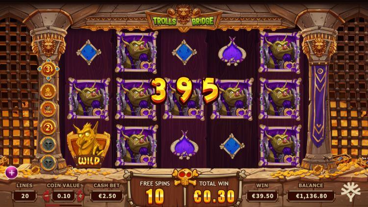 Trolls Bridge slot review Ygdrasil free spins