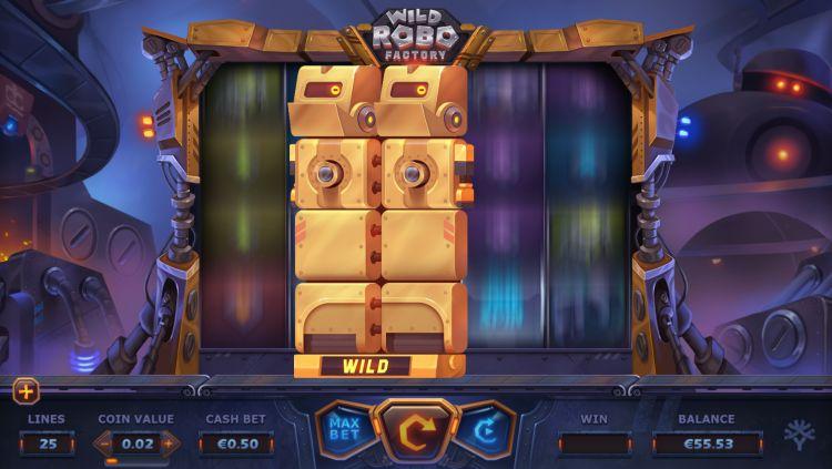 Wild robo factory slot yggdrasil wilds