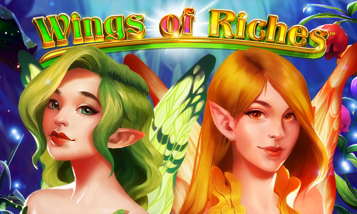 Wings of riches slot netent logo