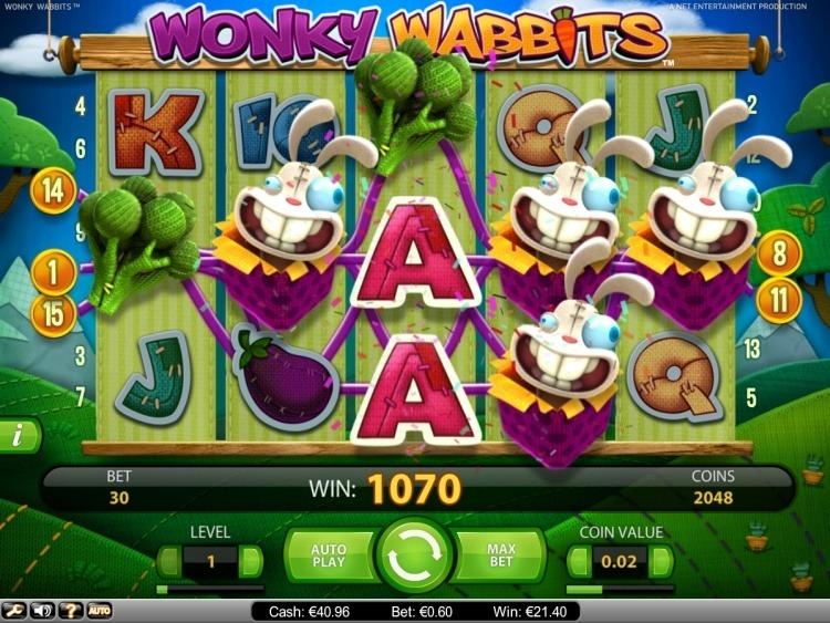 Wonky-Wabbits-Netent-big-win