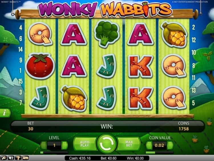 Wonky-Wabbits-Netent-gokkast-review