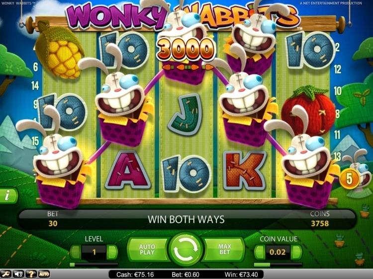 Wonky-Wabbits-Netent-mega-big-win