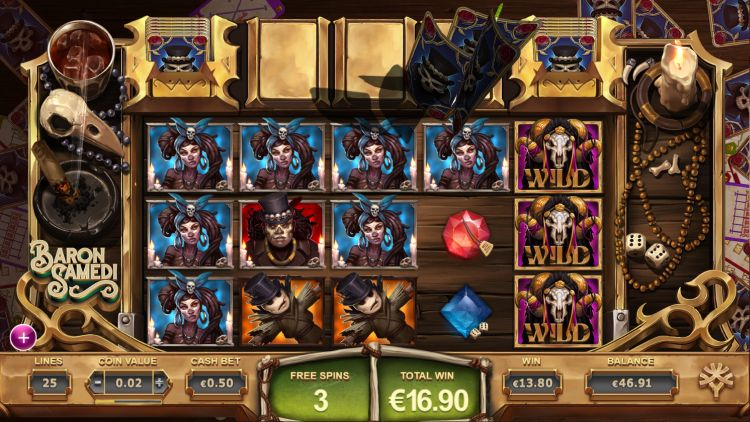 baron-samedi-yggdrasil slot review bonus big win