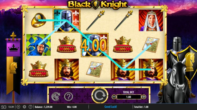 black-knight-slot review wms win