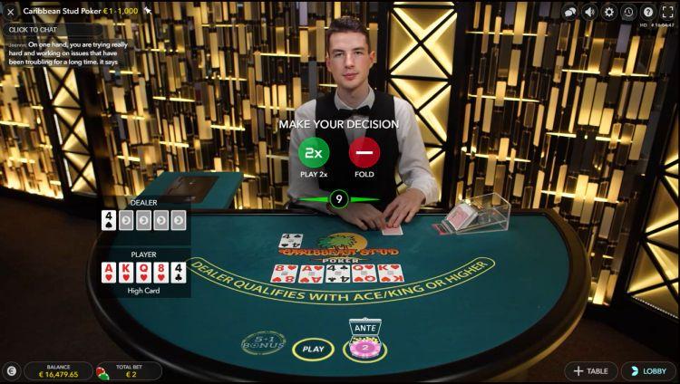 caribbean-stud-poker-strategie-keuze