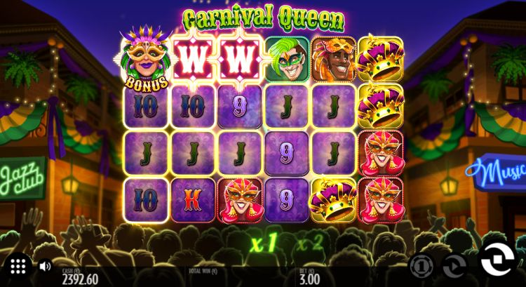 carnival-queen-slot review thunderkick