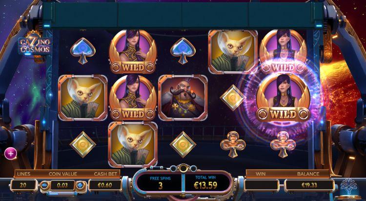 cazino cosmos slot review bonus