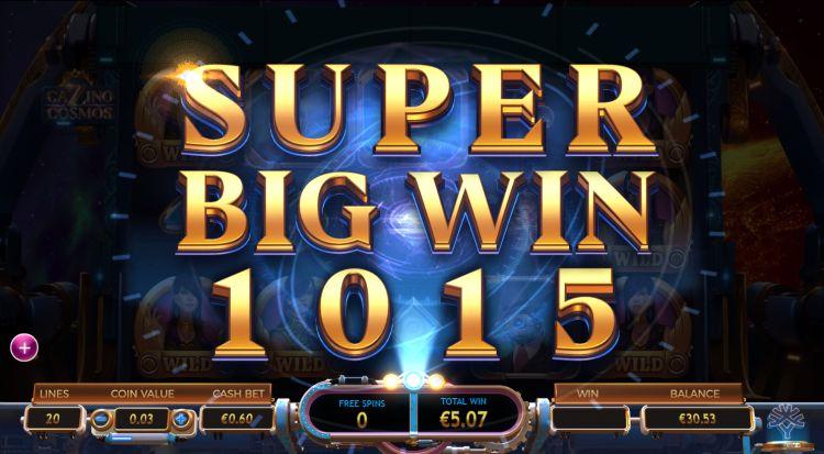 cazino cosmos slot review super big win
