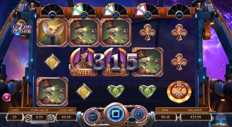cazino cosmos slot review yggdrasil